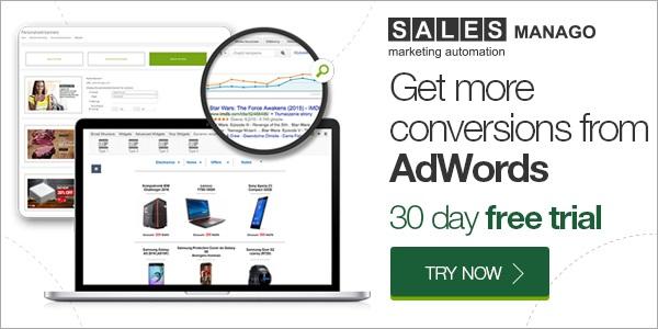 SALESmanago - Get more conversion from AdWords