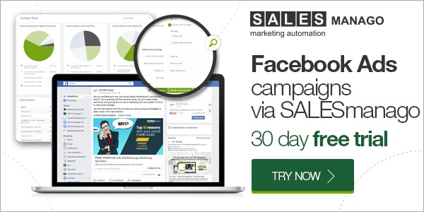 Facebook ads - campaigns via SALESmanago
