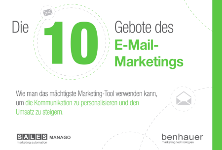 Die 10 Gebote des E-Mail-Marketings