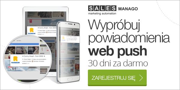 Wypróbuj powiadomienia web push