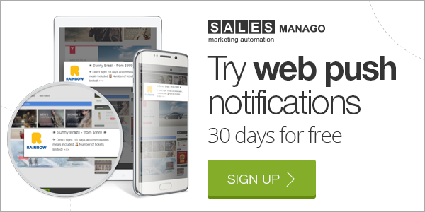 Try web push notifications