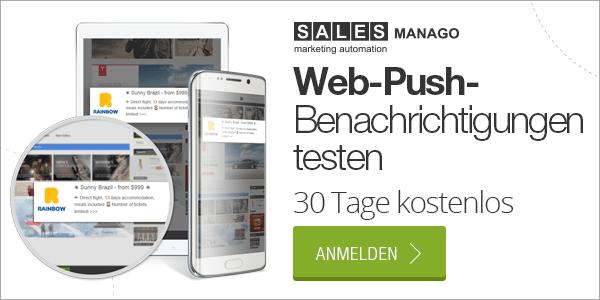 Web-Push- und Rich-Web-Push-Benachrichtigungen