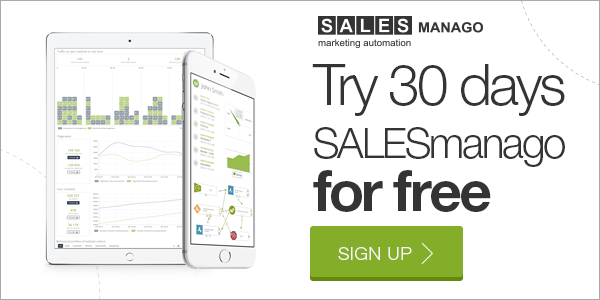 Try 30 days SALESmanago for free