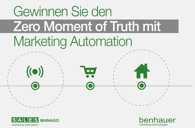 Gewinnen Sie den Zero Moment of Truth mit Marketing Automation
