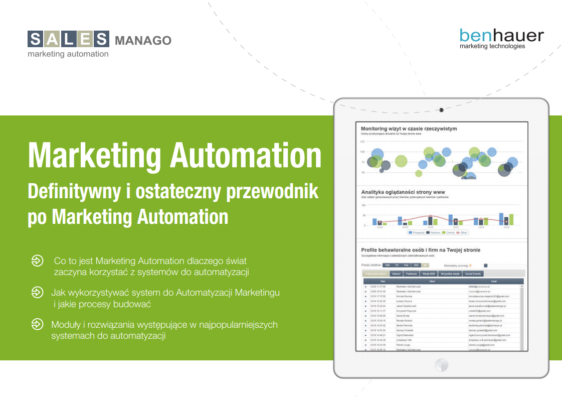 Kompletny przewodnik po Marketing Automation