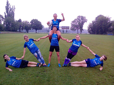 Juvenia Kraków Women's Rugby Team
