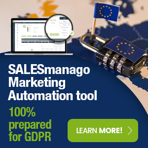 SALESmanago 100% prepared for GDPR