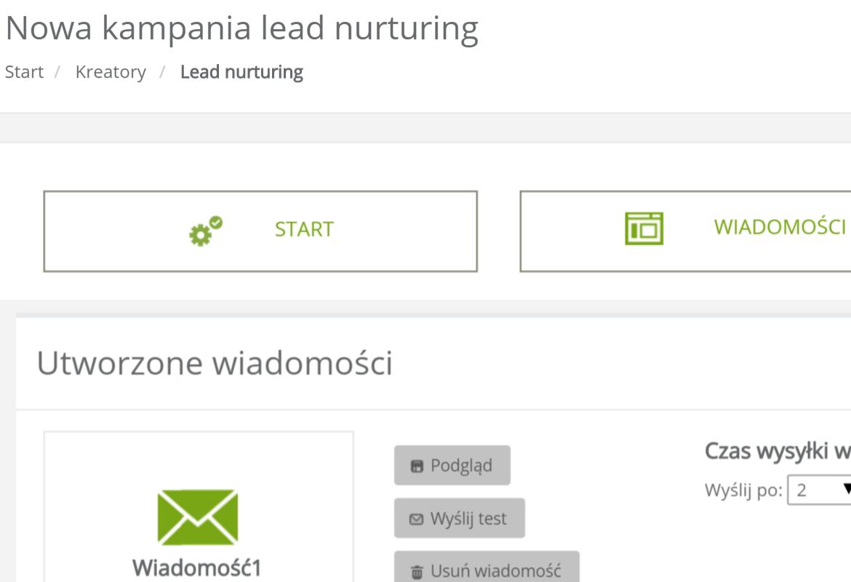 Podgląd responsywnego maila dynamicznego stworzonego w kreatorze eCommerce NextGen w SALESmanago Marketing Automation