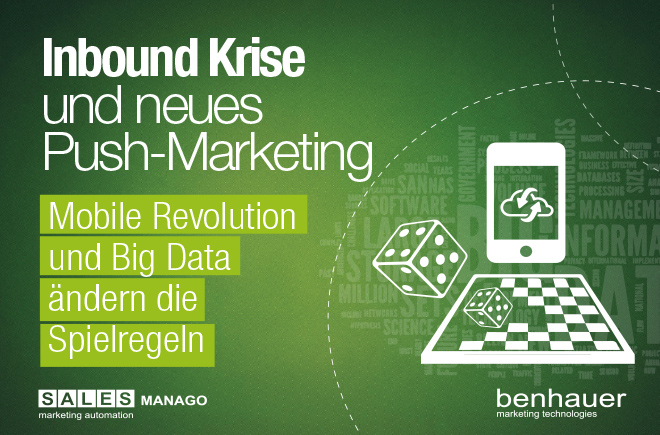 Inbound Krise und neues Push Marketing