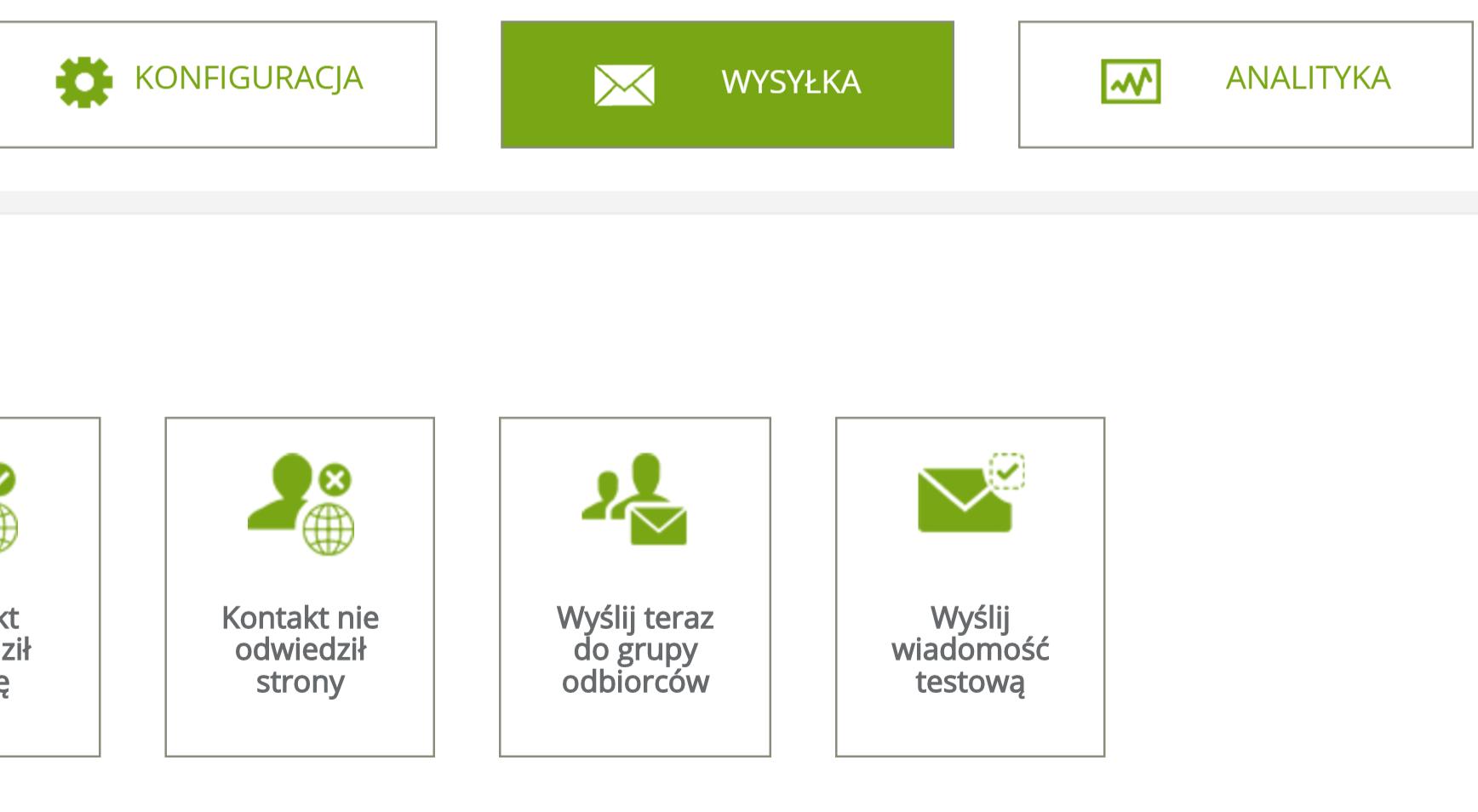 Wysyłka maili dynamicznych z eCommerce NextGen w SALESmanago - metody adresowania