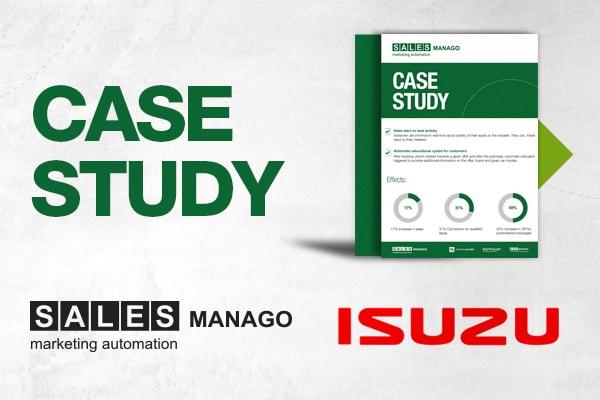 Customer of SALESmanago Marketing Automation - Isuzu