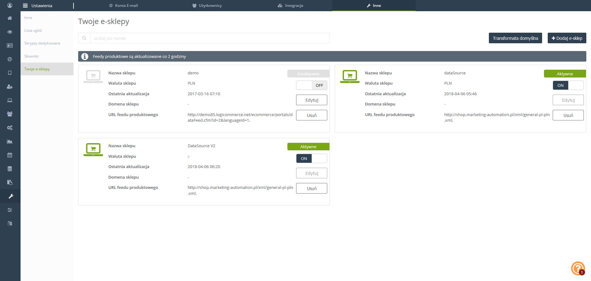 Dodaj e-sklep