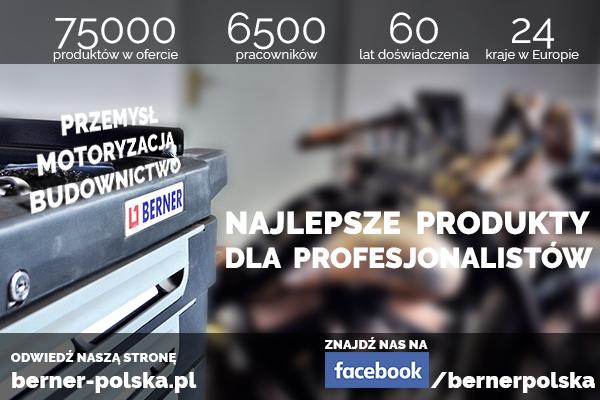 Najlepsze produkty dla profesjonalistów - berner-polska.pl