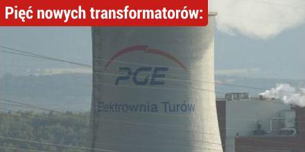 Pięć nowych transformatorów: