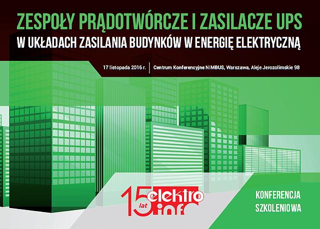 Konferencja elektro.info - pobierz obrazki!