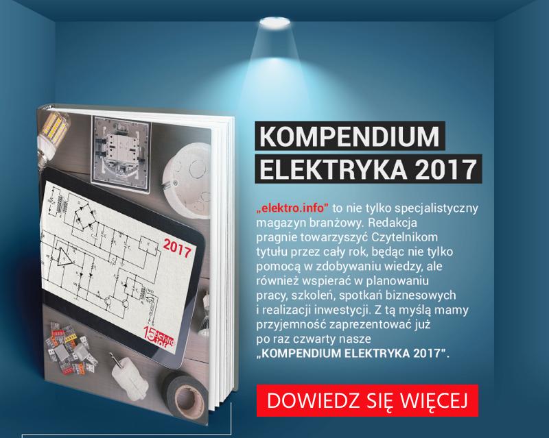 Kompendium Elektryka 2017 - pobierz obrazki, by dowiedzieć się więcej