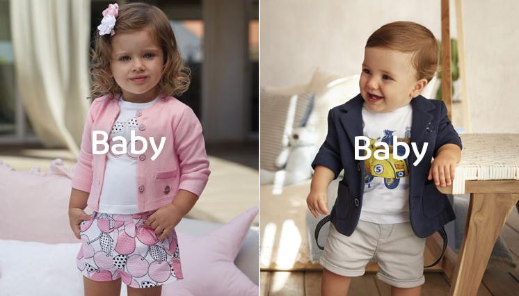 Nowa kolekcja Mayoral baby dla chłopców i dziewczynek