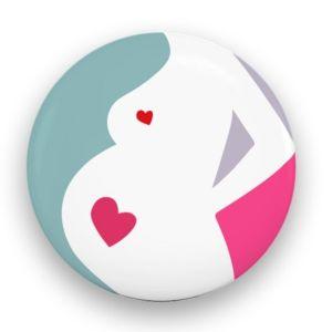 przypinka boomy dla kobiet w ciąży
