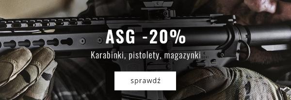 ASG -20% Karabinki, pistolety, magazynki