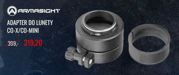 Adapter do lunety Armasight CO-X/CO-Mini 42-50 mm cena regularna: 399,- cena promocyjna: 319,20