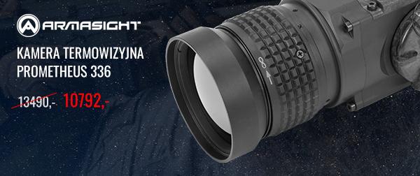 Kamera termowizyjna Armasight by Flir Prometheus 336 3-12x50 (60 Hz/336x256/50 mm) cena regularna: 13490,- ceba promocyjna: 10792,-