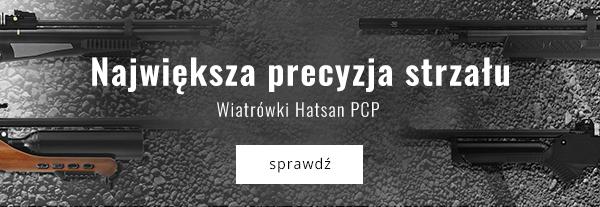 Największa precyzja strzału. Wiatrówki Hatsan PCP.