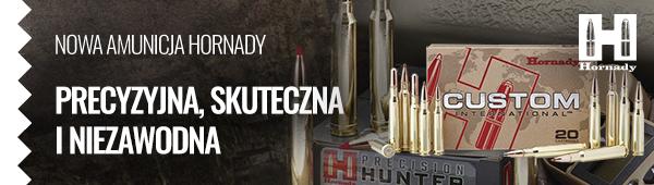 Nowa amunicja Hornady - precyzyjna, skuteczna i niezawodna.