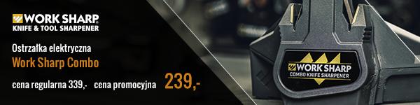 Ostrzałka elektryczna Work Sharp Combo -cena regularna 339,- >> cena promocyjna 239,-