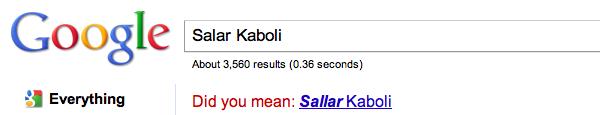 Sallar Kaboli