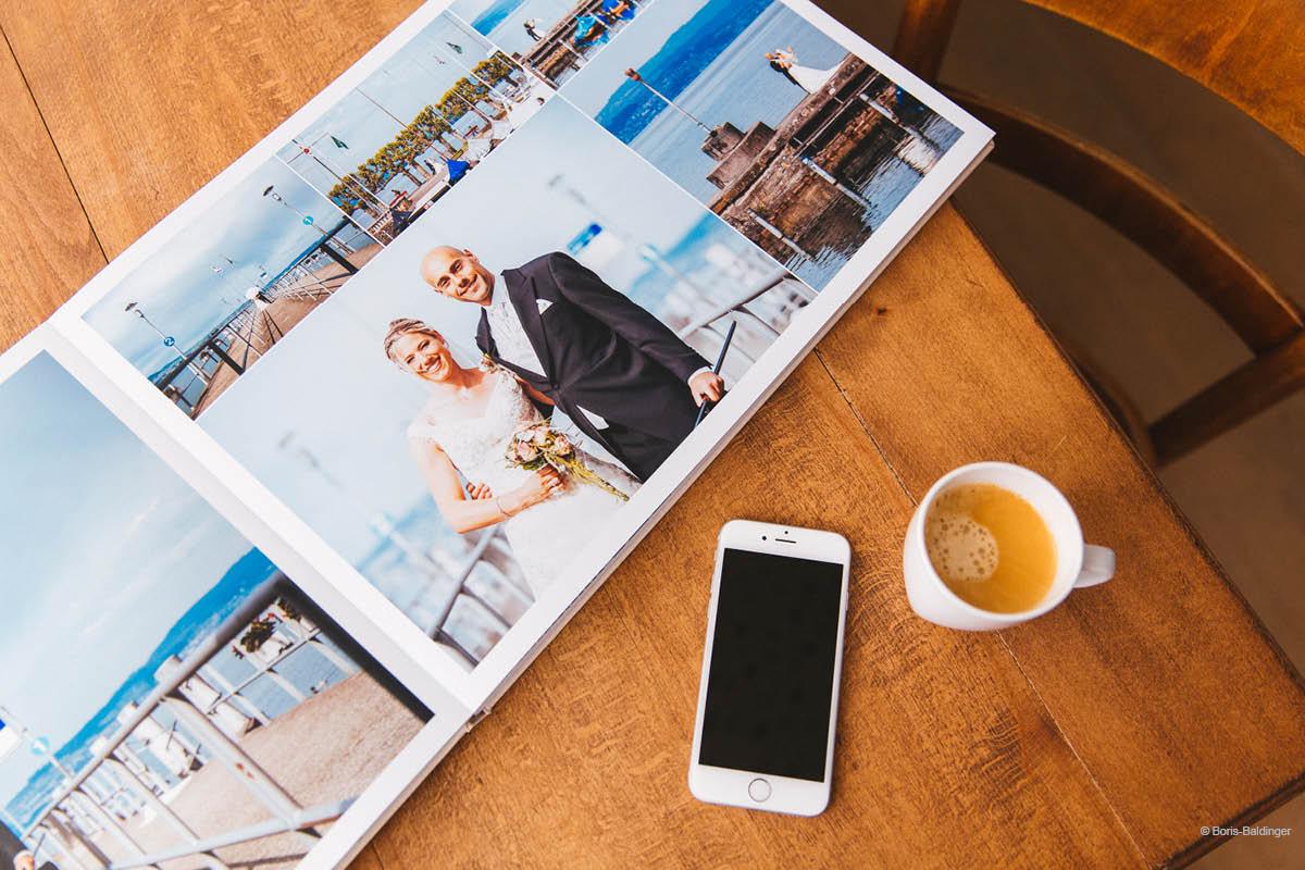Layflat wedding album