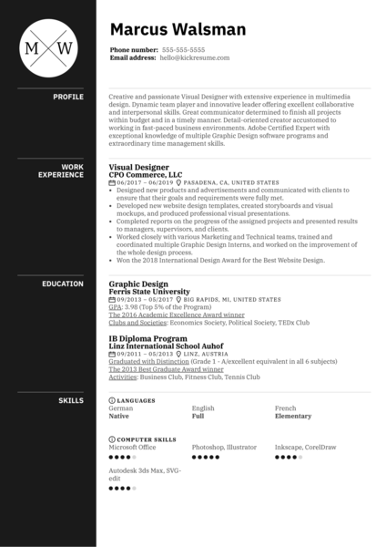 Jewelry Designer Resume Sample Kickresume