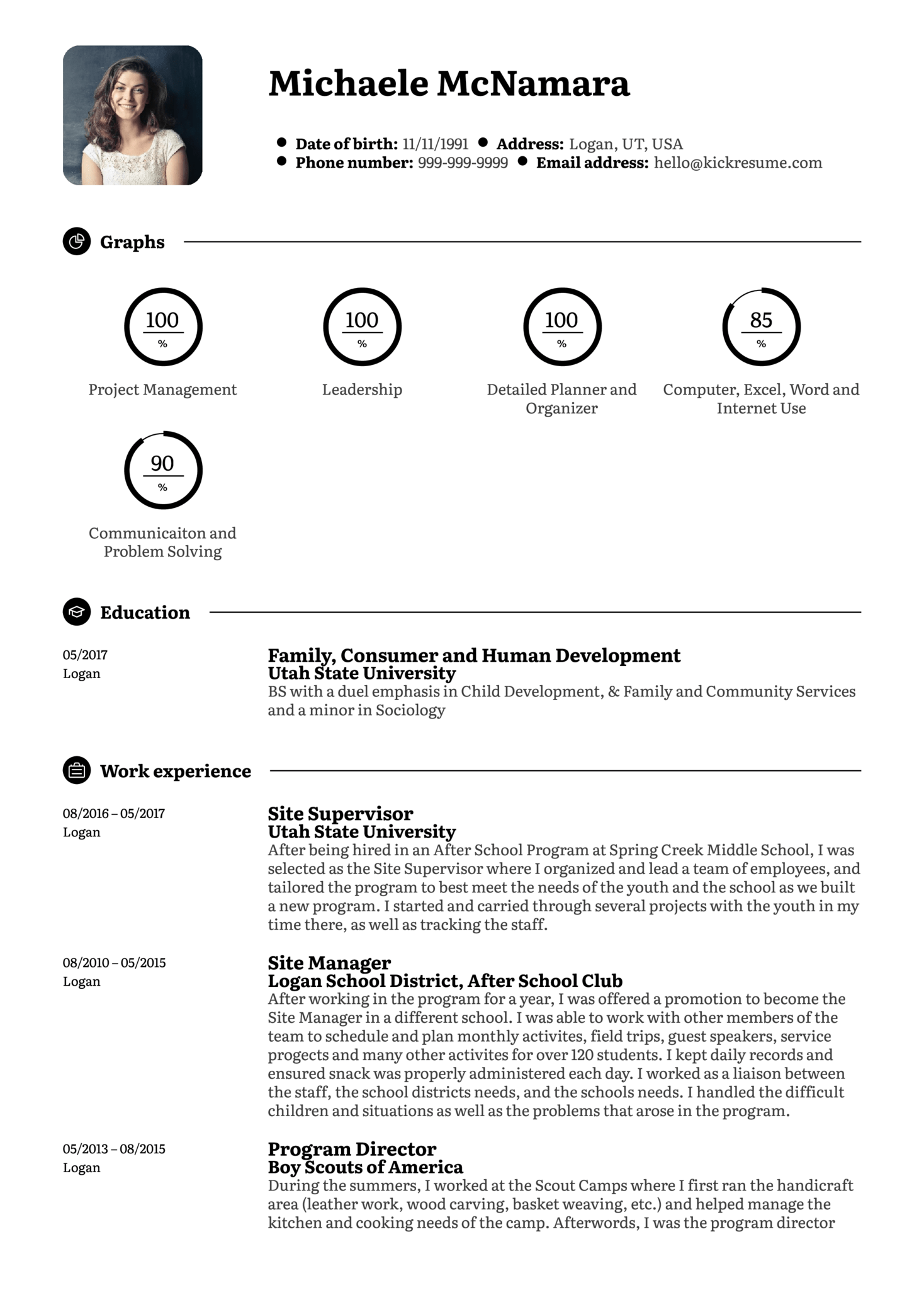 resume examples by real people  refocus specialist resume sample