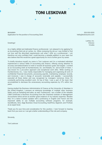 Cover Letter Examples by Real People: IBM junior product ...