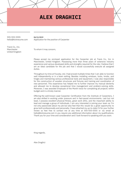Engineering Cover Letter Samples From Real Professionals