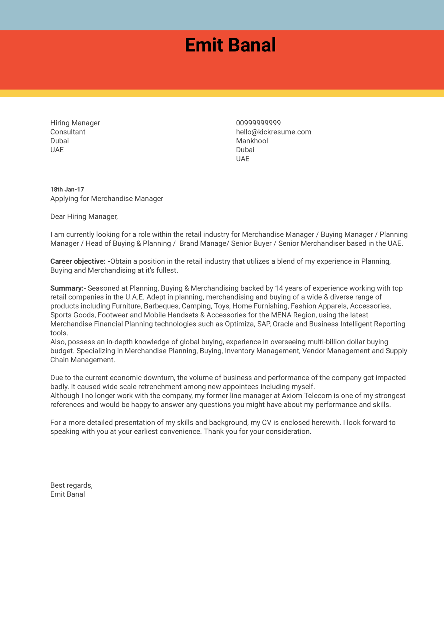 Branding consultant cover letter for Red bull cover letter examples