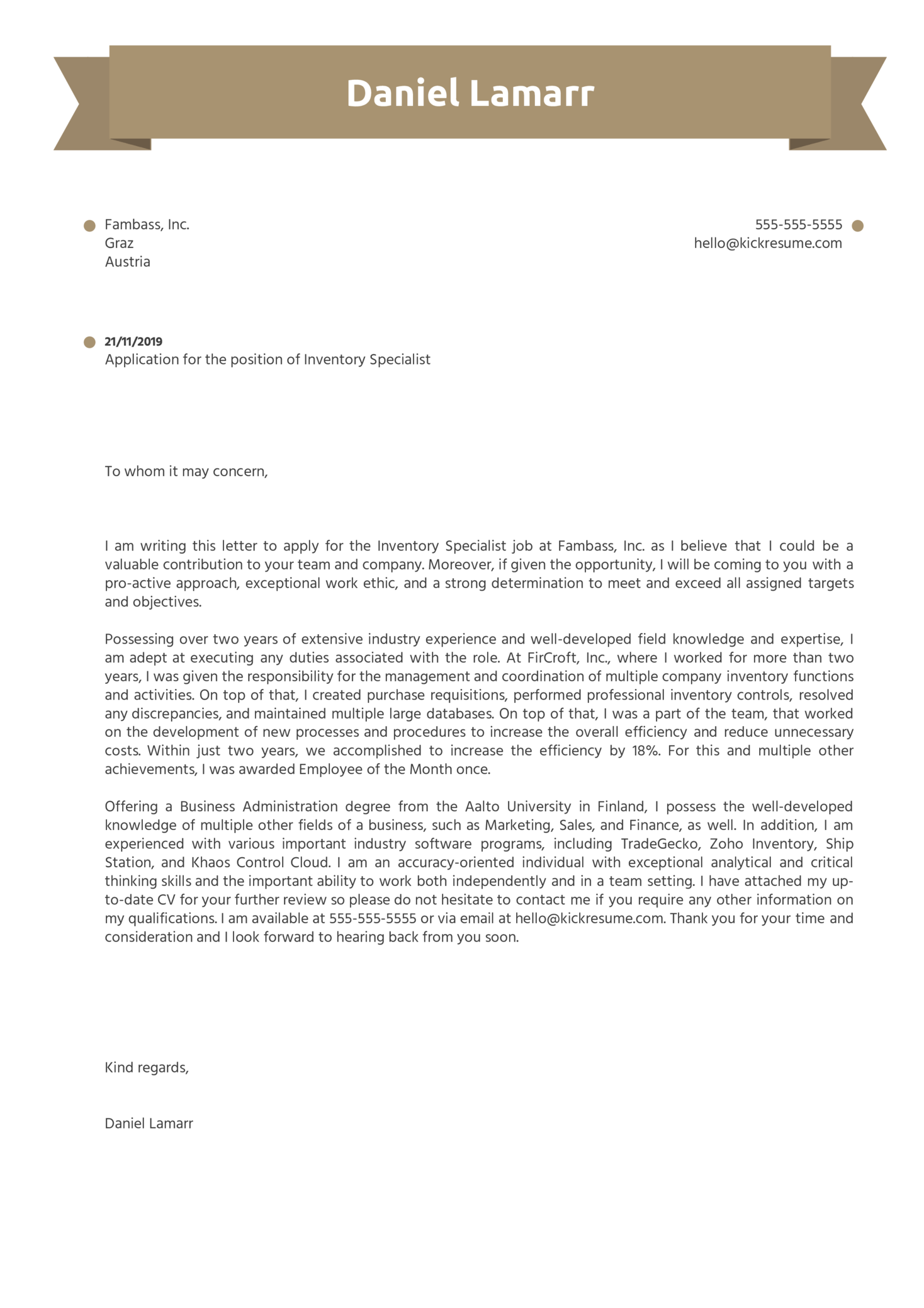Strong Cover Letter Sample from s3-eu-west-1.amazonaws.com