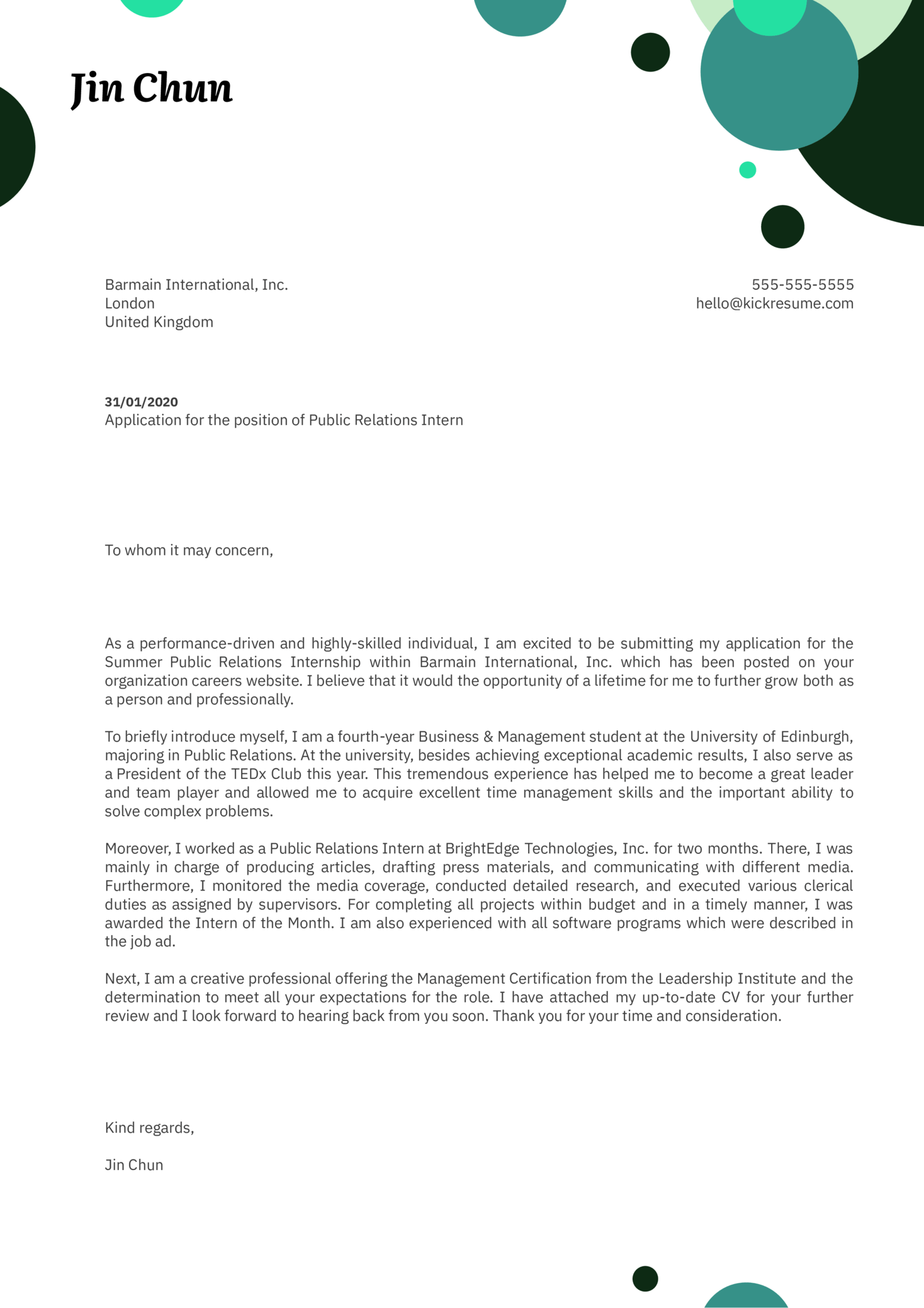 Sample Cover Letter For Students Applying For An Internship from s3-eu-west-1.amazonaws.com