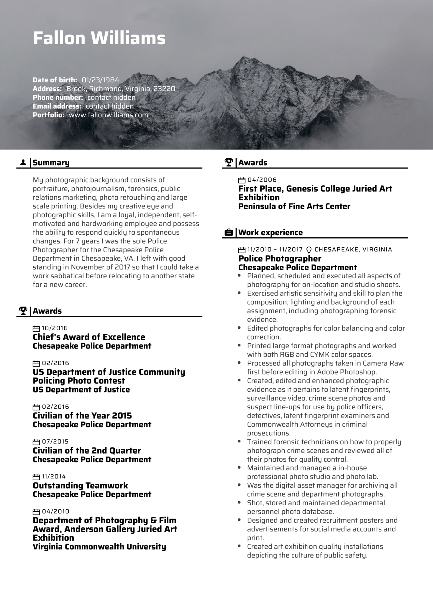 resume examples by real people  photo editor resume