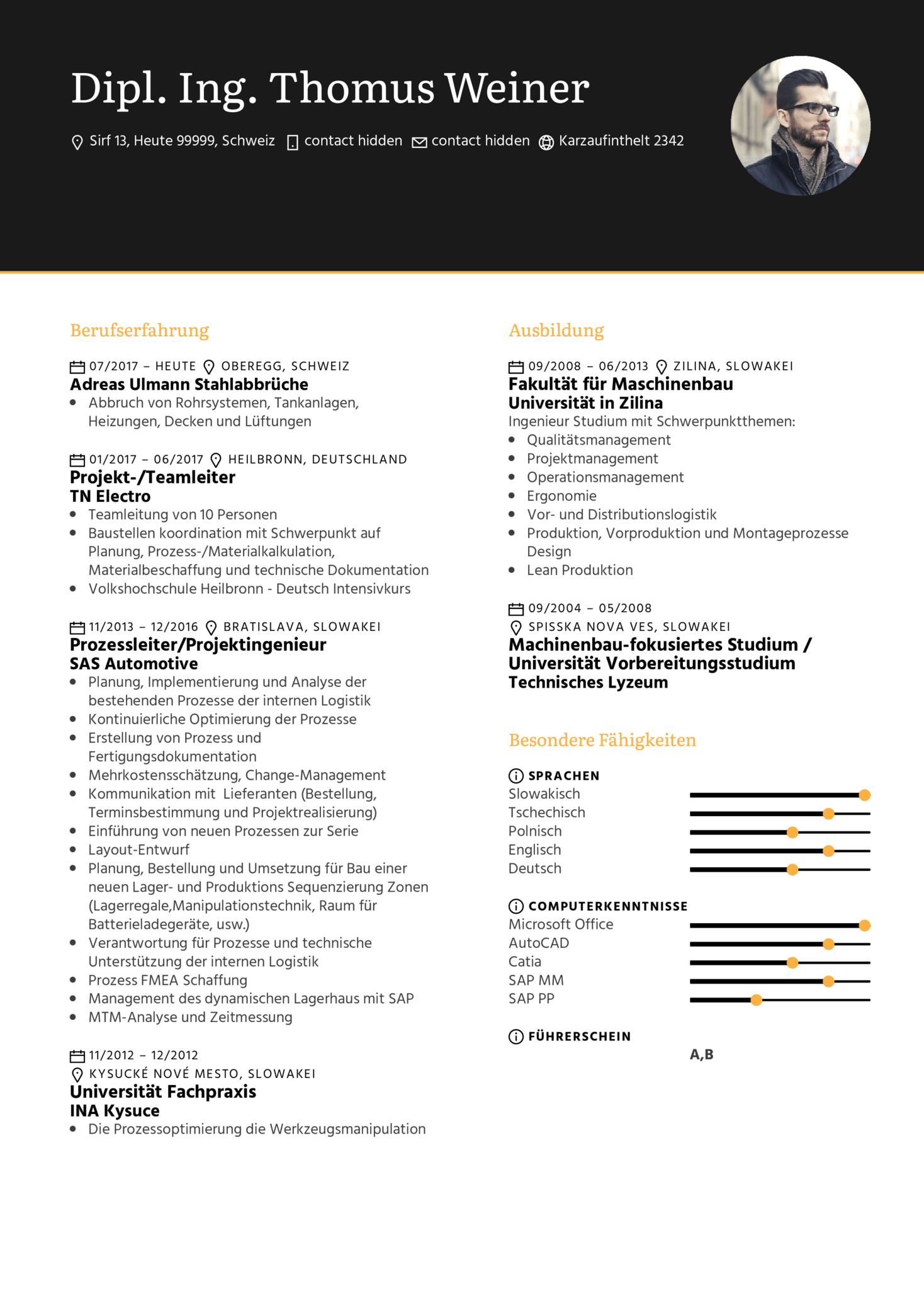 Resume Examples By Real People Knapp
