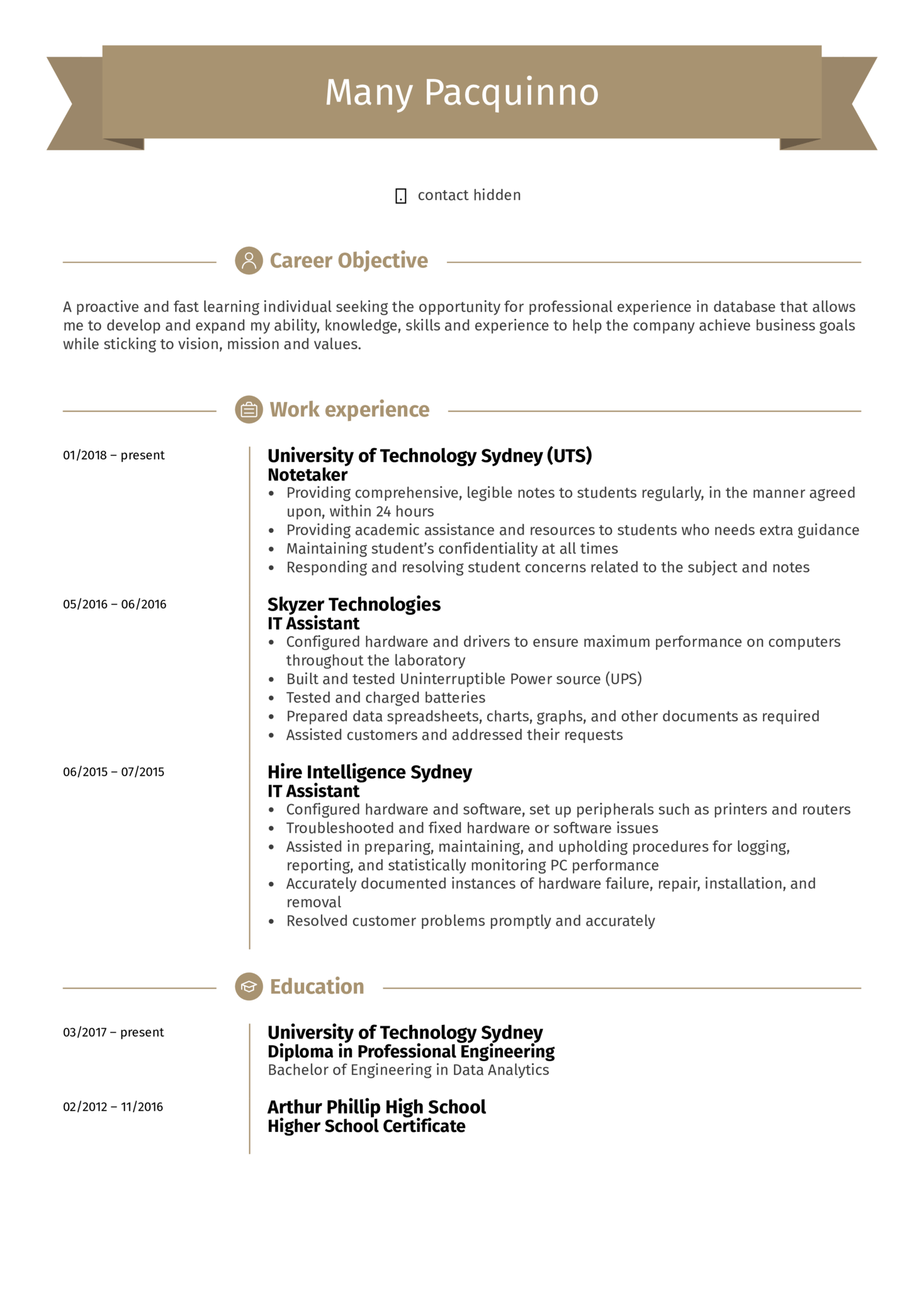 resume examples by real people  it assistant resume