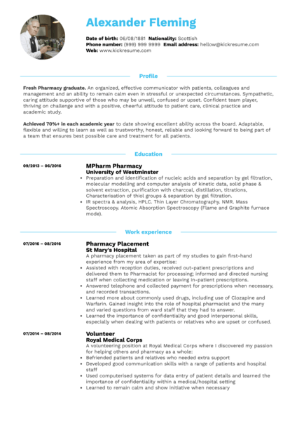Student Resume Pharmacy. Student Resume Pharmacy. Preview · Use Sample