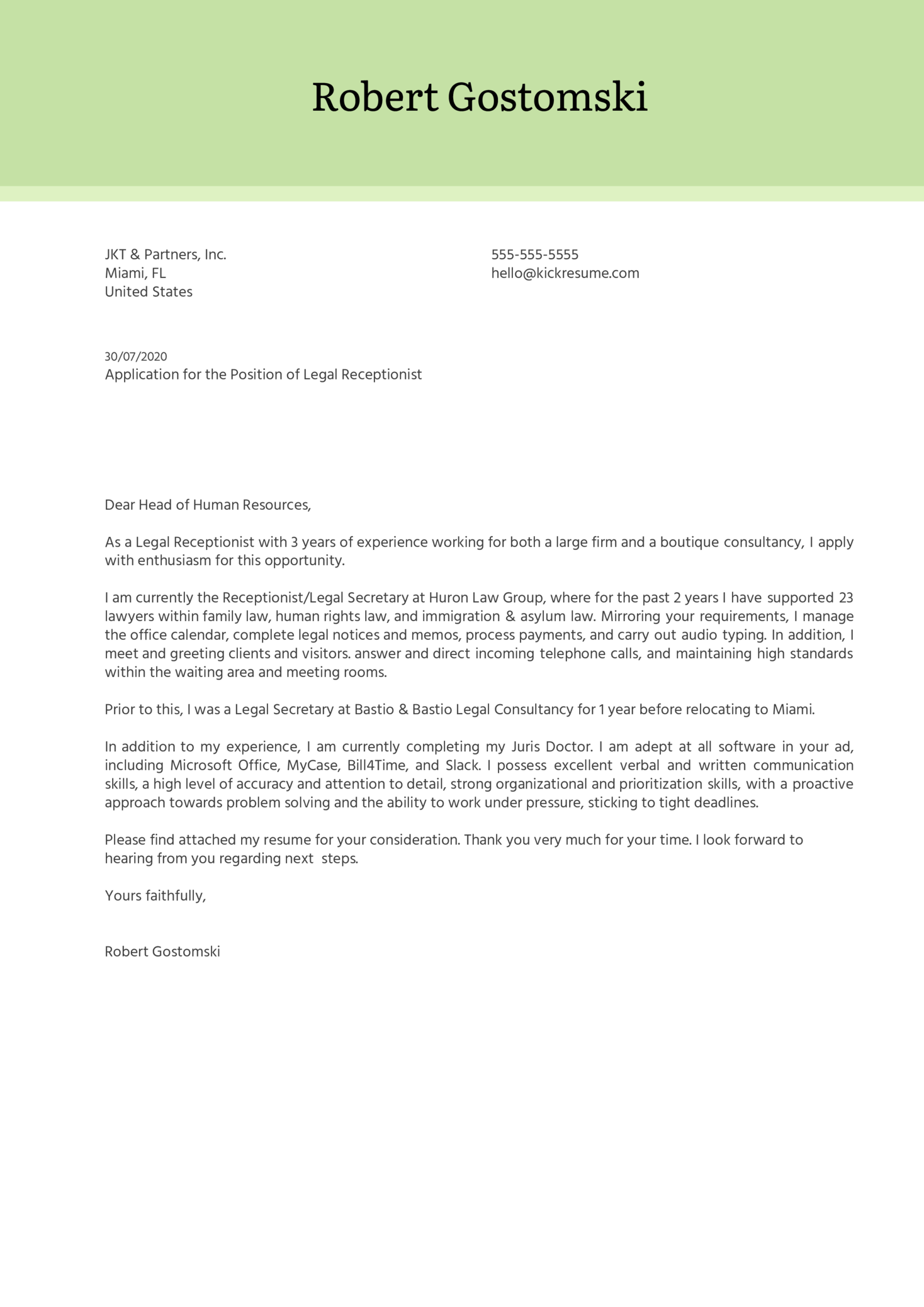 Cover Letter Template Receptionist from s3-eu-west-1.amazonaws.com
