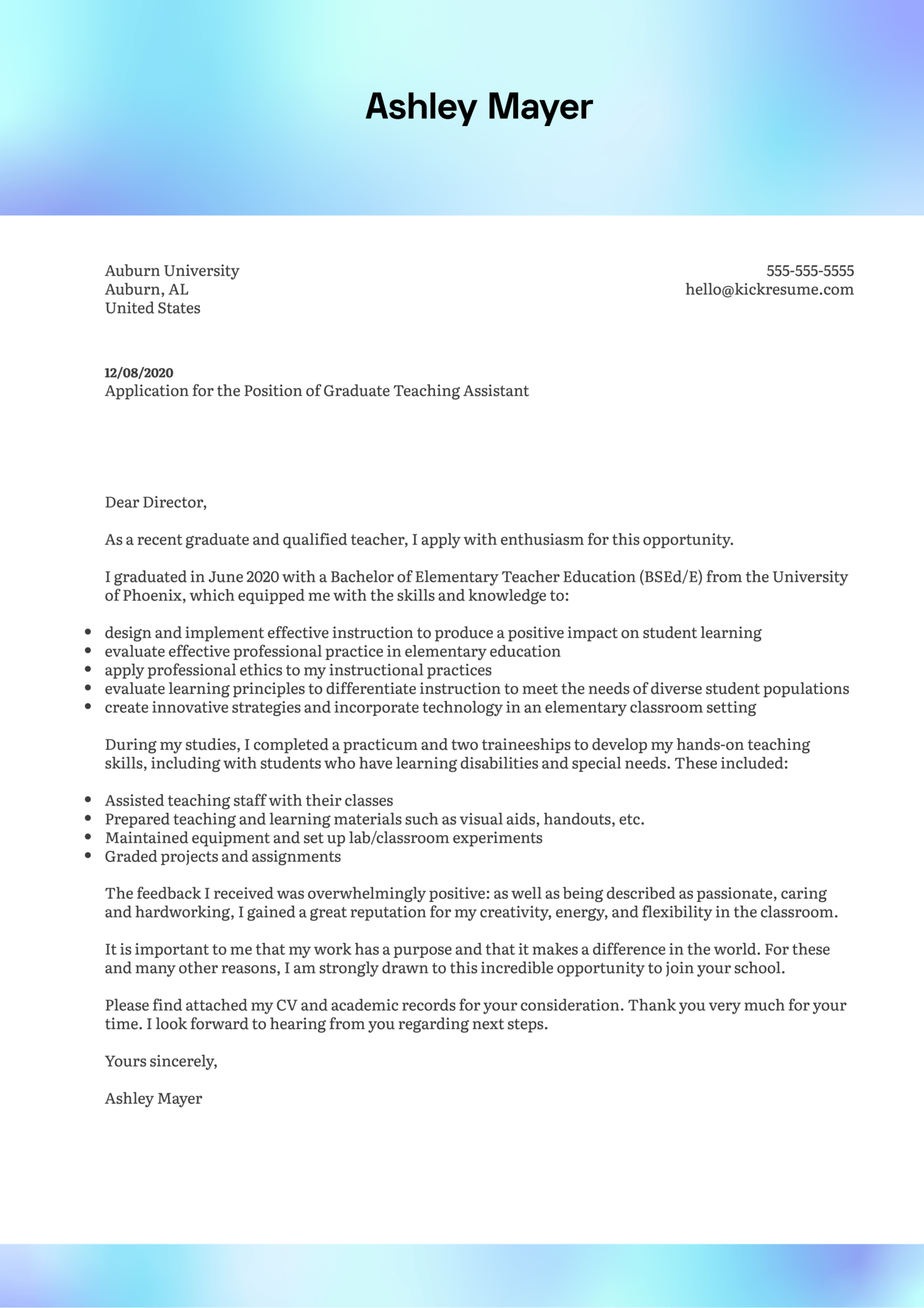 Teaching Assistant Cover Letter Samples from s3-eu-west-1.amazonaws.com