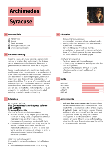 resume examples by real people  waiter  host resume sample