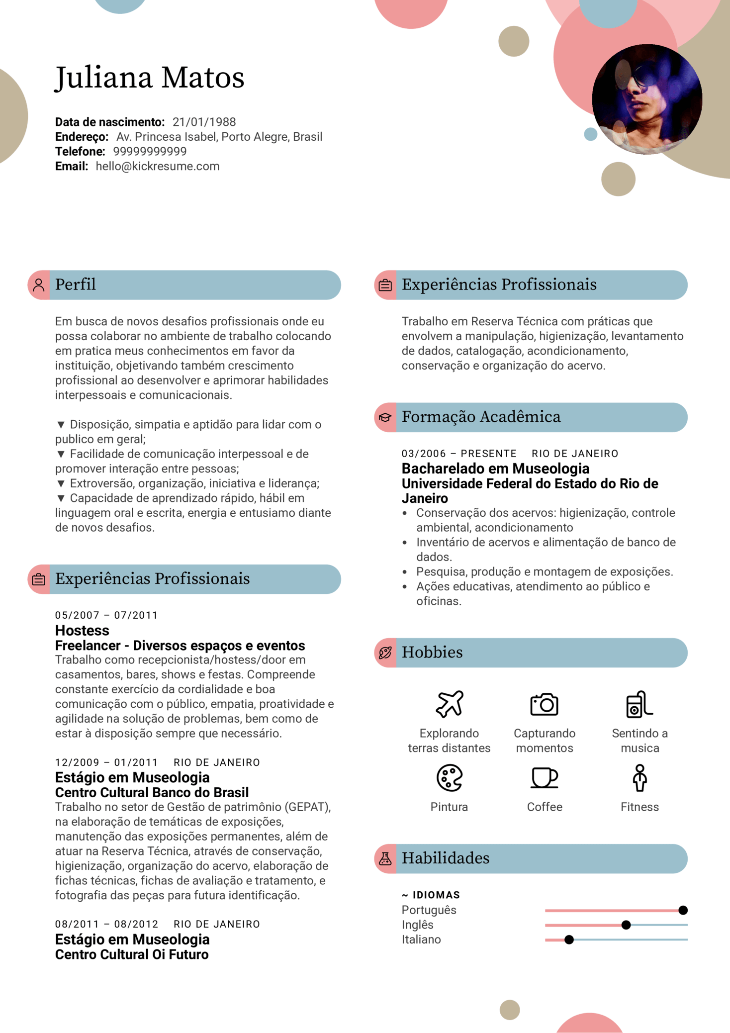 resume examples by real people  modelo curriculum vitae
