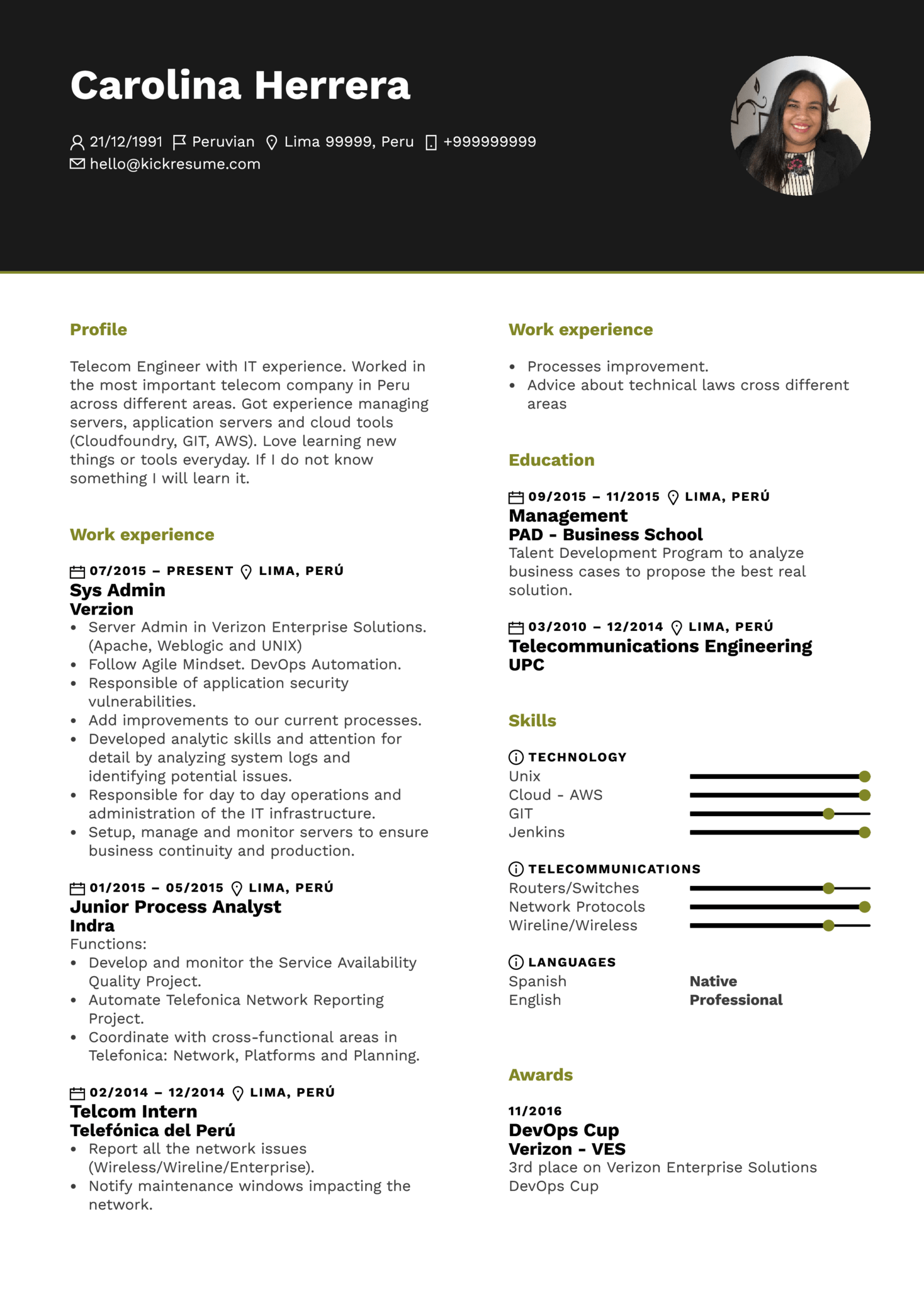 Resume Examples By Real People Amazon Systems