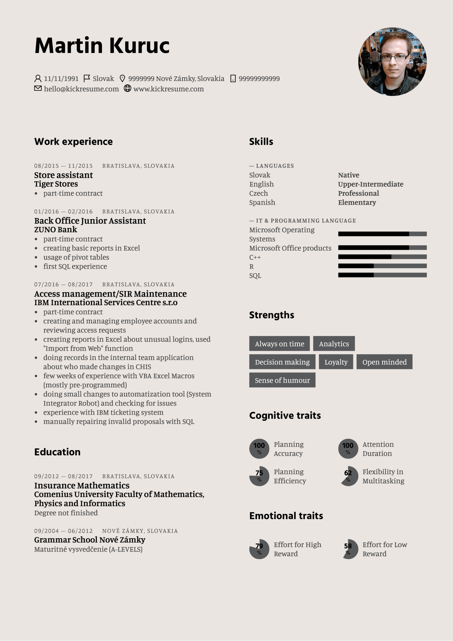 resume examples by real people  at u0026t value transformation