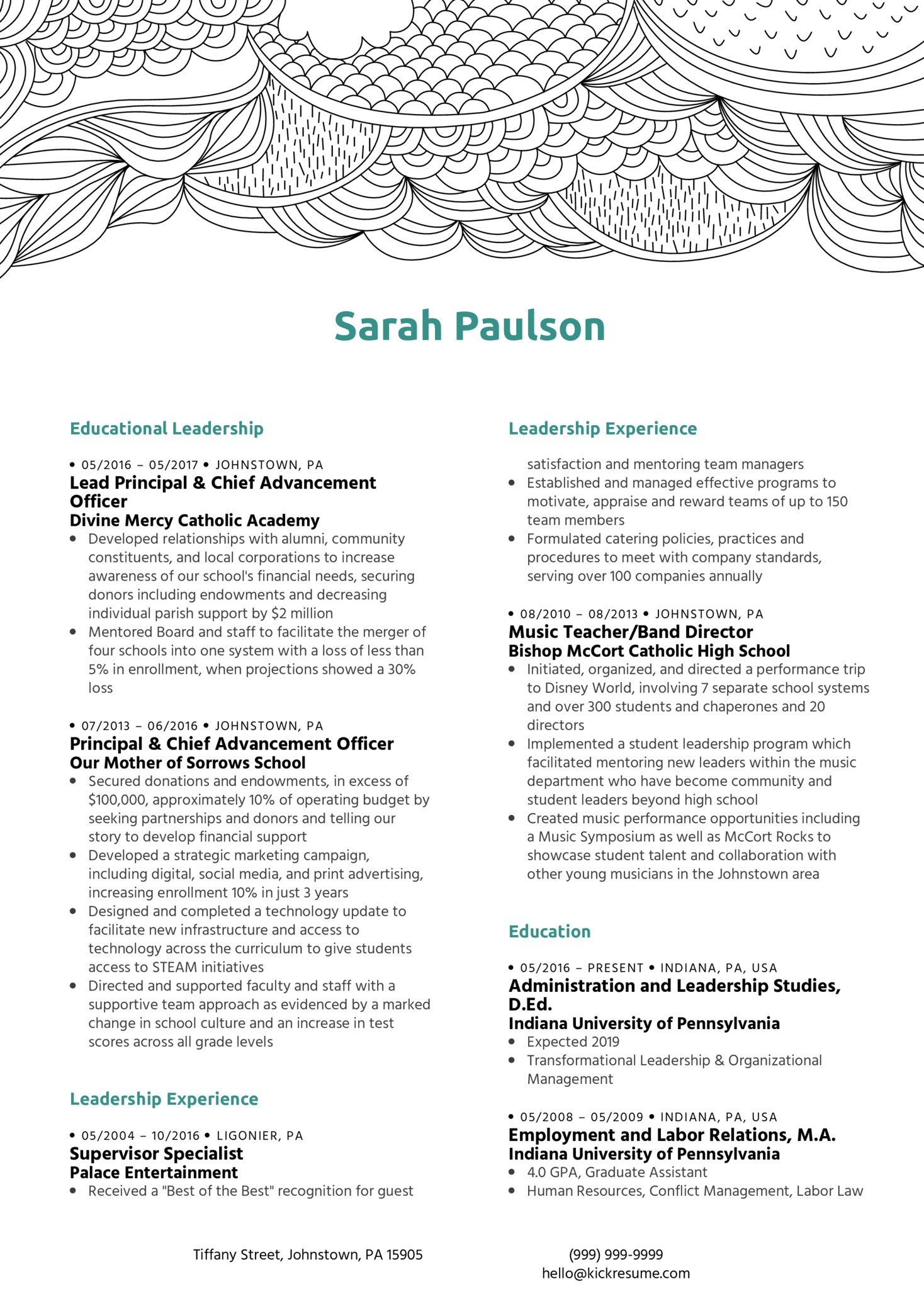resume examples by real people  administrative manager cv sample
