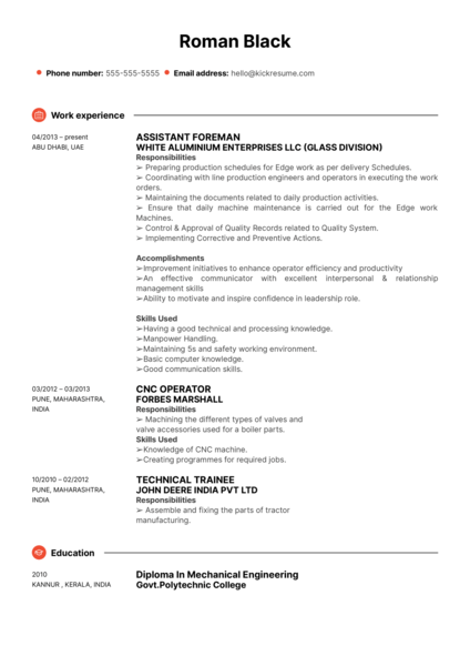Social Work at GEMS International School Resume Sample