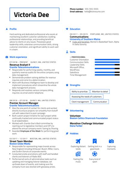 Program Manager at Informa Resume Sample